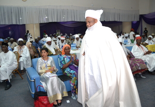 His Eminence the Sultan of Sokoto at the conference