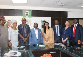 Whilst in Nigeria, the Envoy has been meeting with key actors in the youth development space.