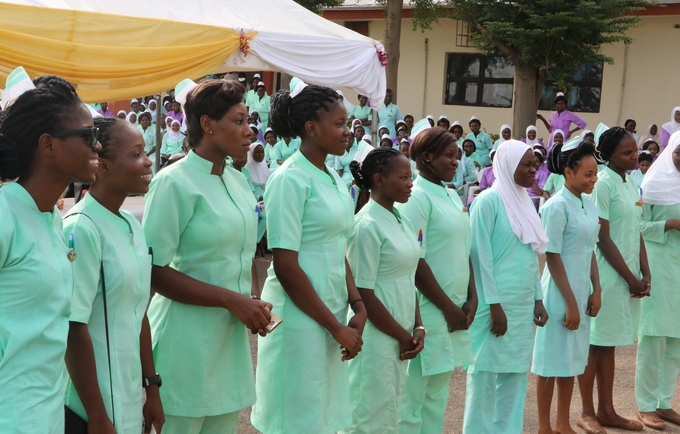 Student Midwives at the University of Abuja Teaching Hospital during the IDM 2017 commemoration